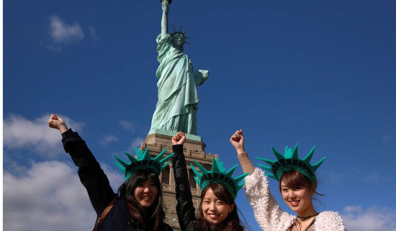 Chinese tourists in America...the start of the buying process of an American home