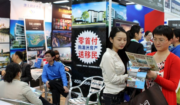 Chinese buyers active in smaller cities in the US
